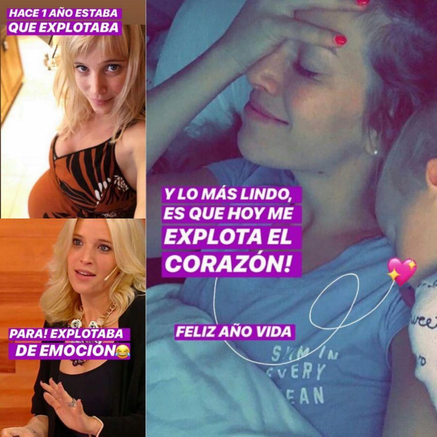 Luisana Lopilato celebró el añito de Vida