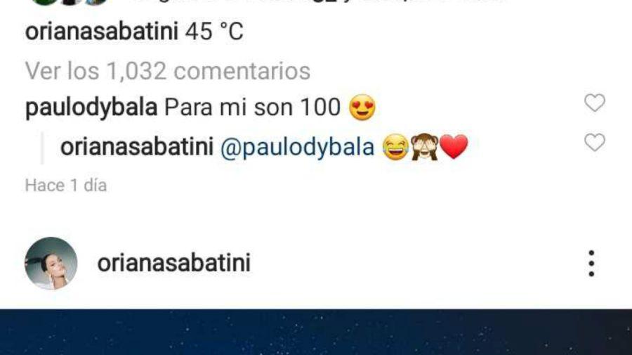 El mensaje de Dybala