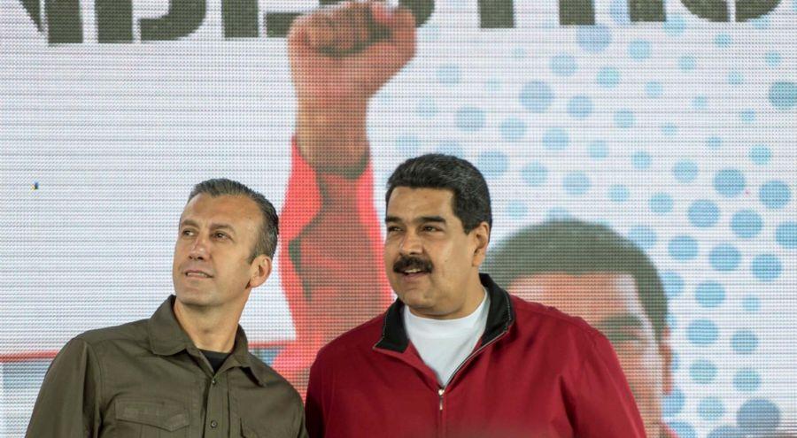 Tareck el Aissami Nicolás Maduro 07312019