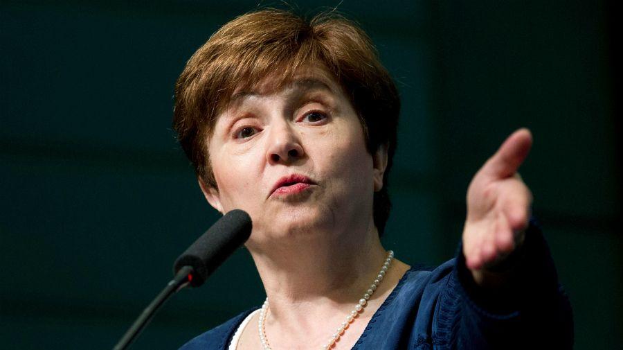 Kristalina Georgieva, nueva directora del FMI.