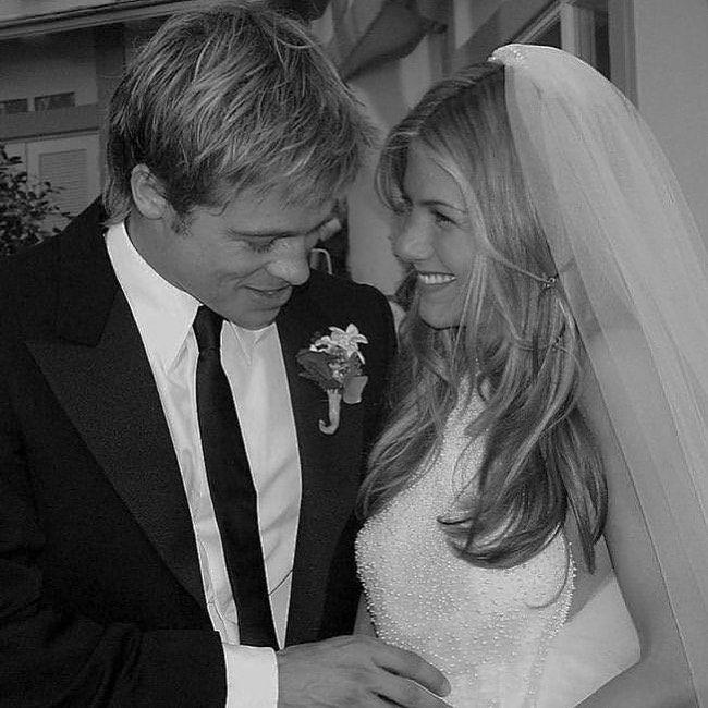 Los detalles ocultos de la boda de Brad Pitt y Jennifer Aniston