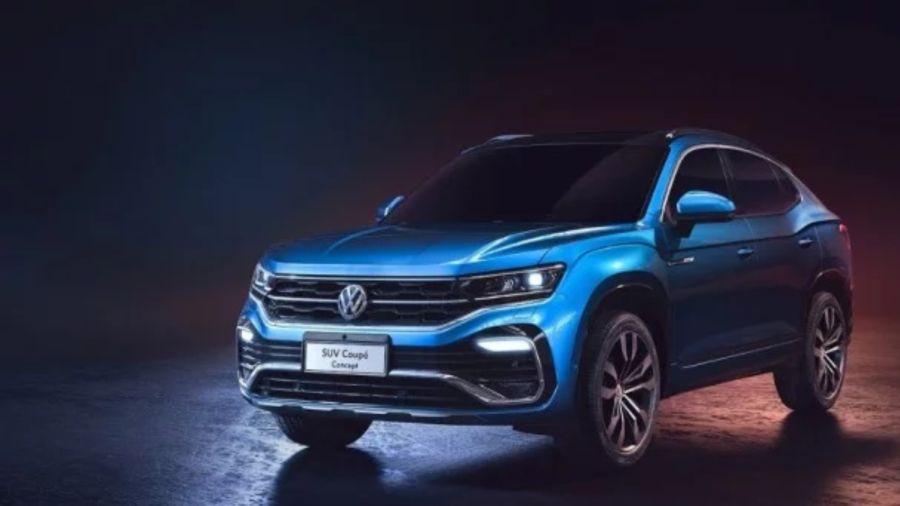 SUV VW coupé concept