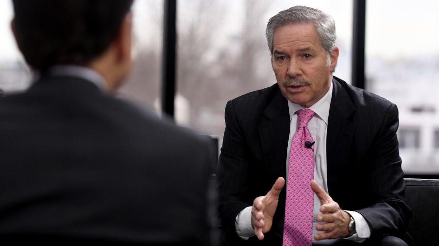 Felipe Solá, en el reportaje con Jorge Fontevecchia.