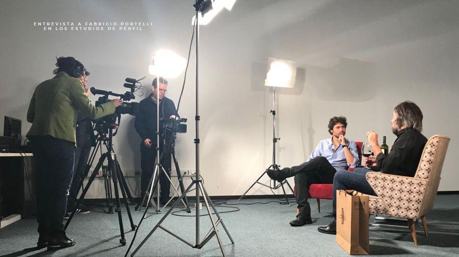 Entrevista a Fabricio Portelli, de DELIRIO