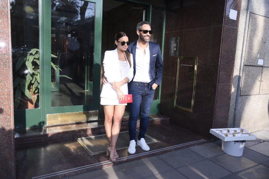 Casamiento del Pollo Álvarez Y Tefi Russo