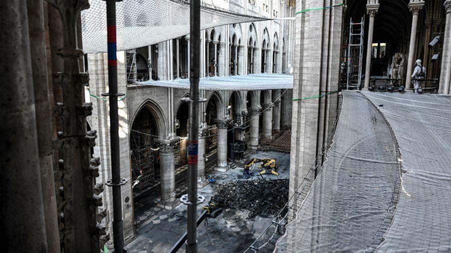 Las obras de remodelación se detuvieron tras la denuncia.
