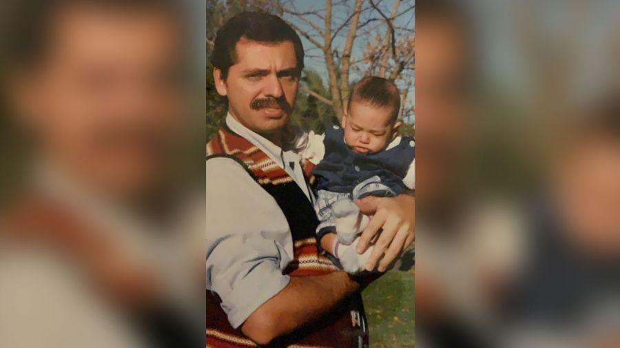 Alberto Fernández y su hijo 20190811