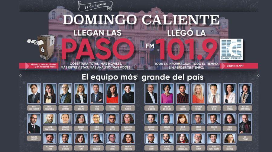 Cobertura las PASO 20190811