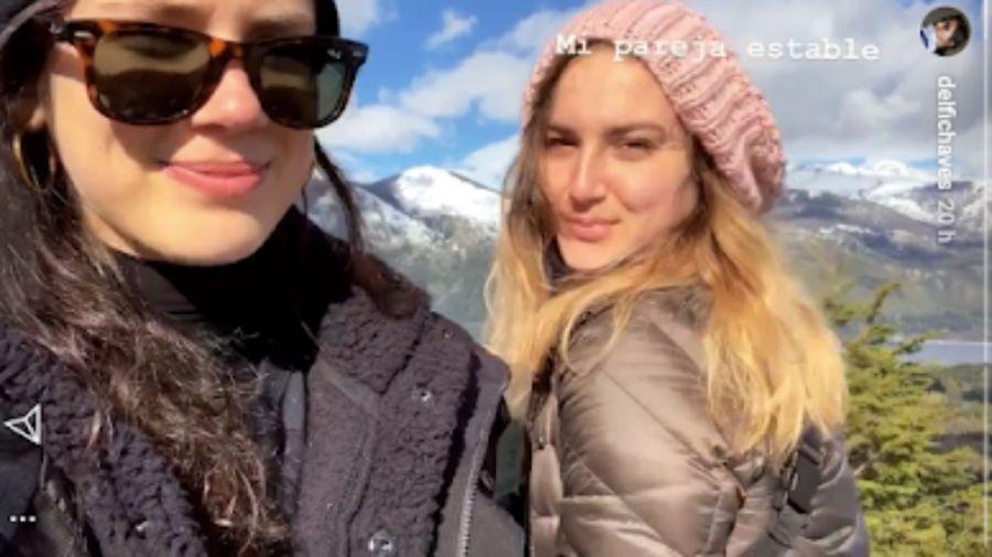 Delfi Chaves nueva novia