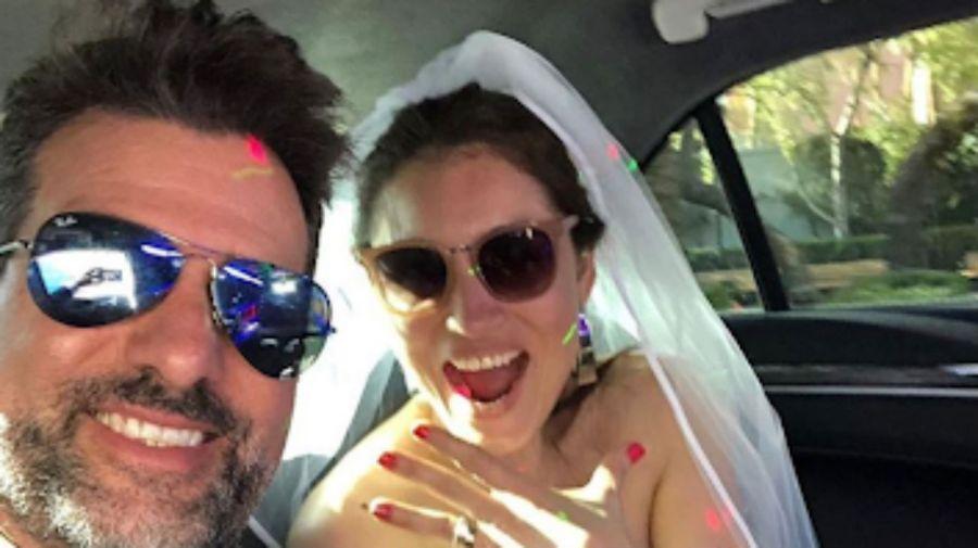 José María Listorti le propuso casamiento a su mujer en las Vegas