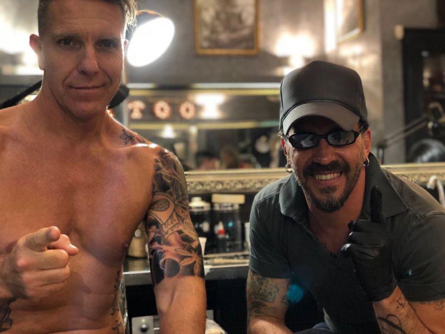 Fantino nuevo tatuaje
