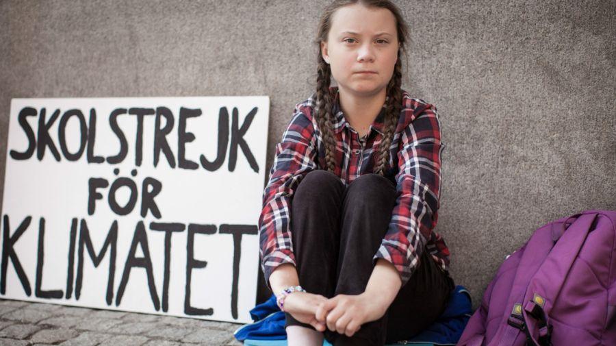 Greta Thunberg viaje