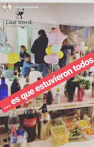 Toda la intimidad del cumpleaños de Rufina Cabré con la China Suárez y Laurita Fernández
