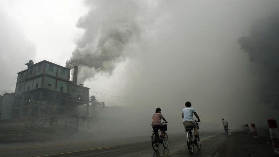 Polución en China