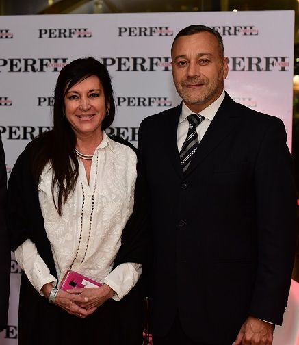 Laura Rodríguez Machado y Gabriel Bermúdez