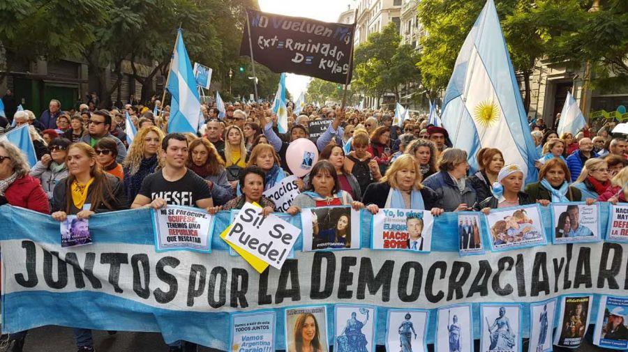 Marcha apoyo Mauricio Macri g2 24082019
