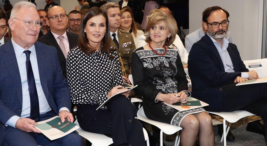 El estampado favorito de la reina Letizia