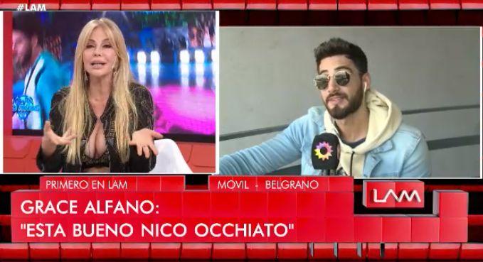 Graciela Alfano y Occhiato