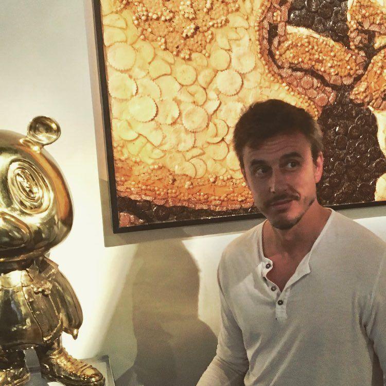 Roberto García Moristan, el nuevo novio de Pampita.