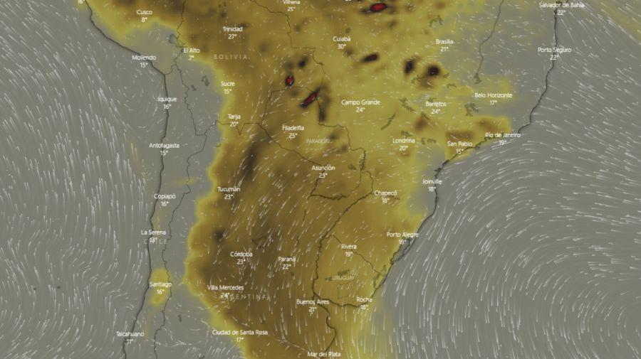 concentracion dioxido de carbono amazonia