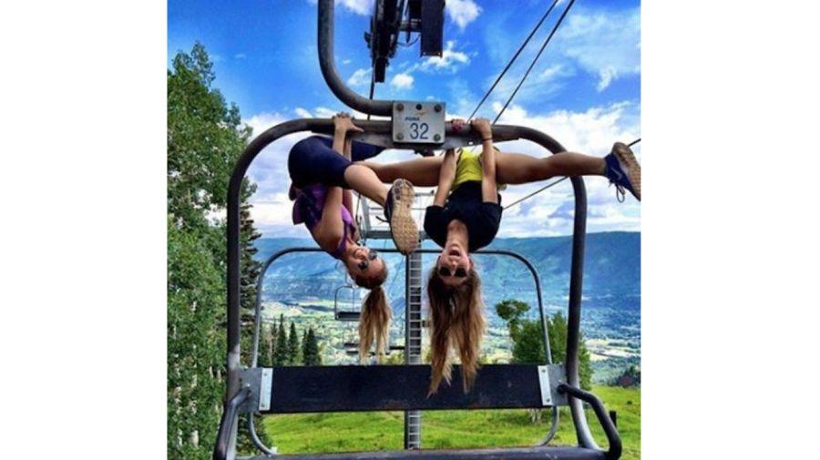 Alexa Terrazas compartía en su Instagram las posturas de yoga que hacía.