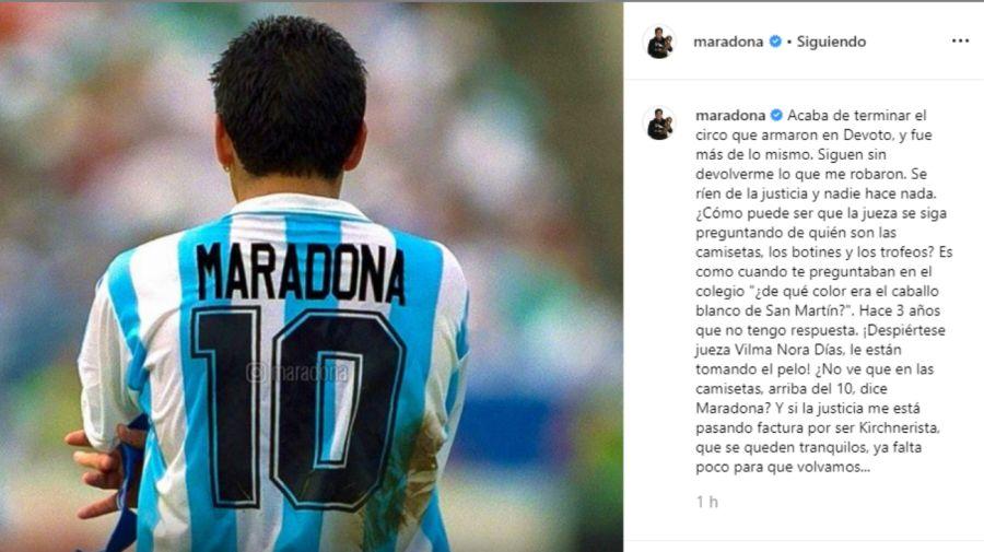 diego maradona bronca 0828