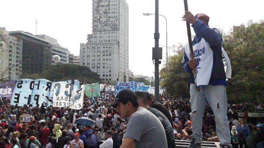 marcha de organizaciones sociales 28082019