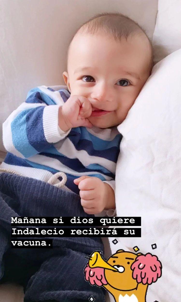 El desesperado pedido de Luli Fernández para su hijo