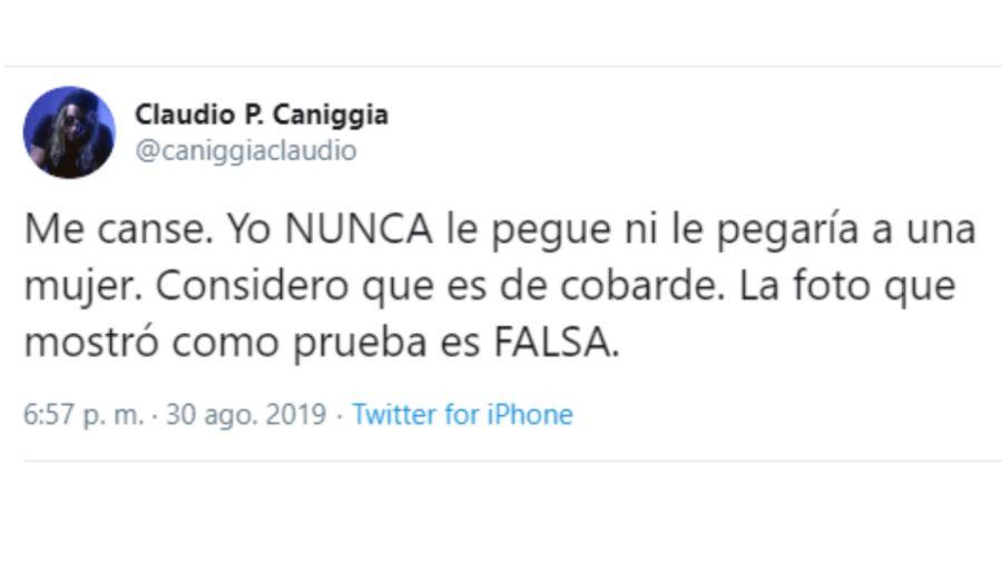 Claudio Paul Caniggia desmiente Mariana Nannis 0830