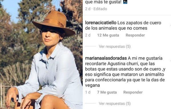La foto de Agustina Cherri que hizo enojar a sus seguidores