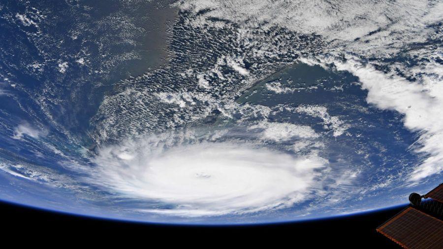 huracán dorian estacion espacial