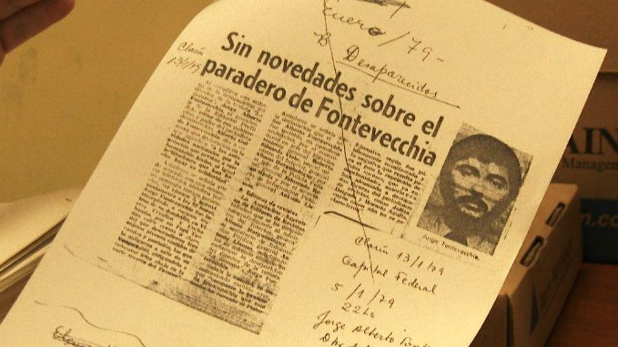Documentos de la CIDH en Washington muestran que el organismo seguía el caso del secuestro de Jorge Fontevecchia en 1979.