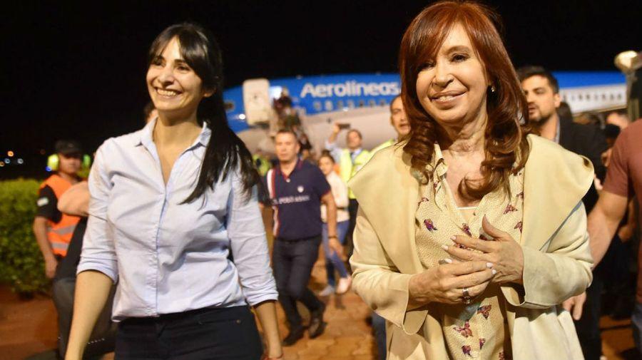 La llegada de Cristina a Misiones, para presentar Sinceramente.