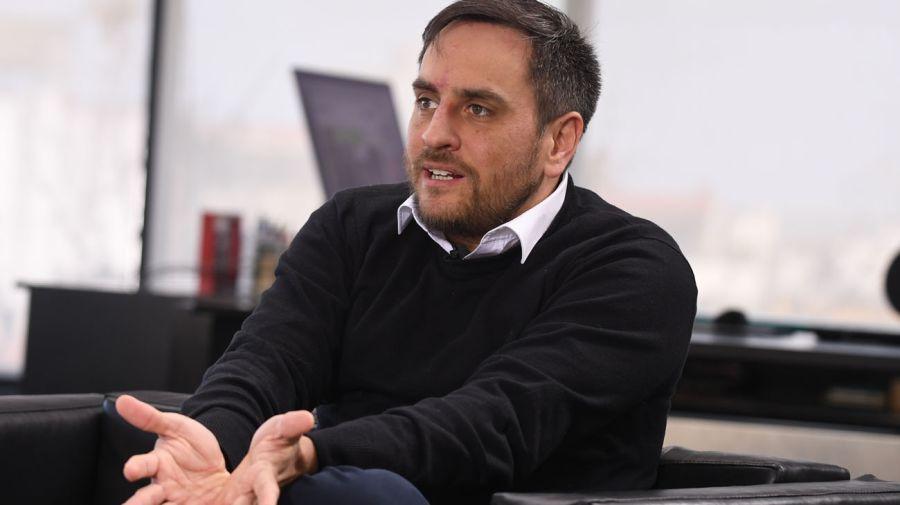 Juan Cabandié, en la entrevista con Jorge Fontevecchia.