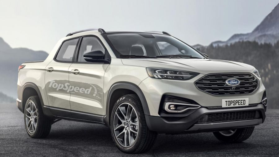 Pick-up compacta Ford (Fuente: Top Speed)