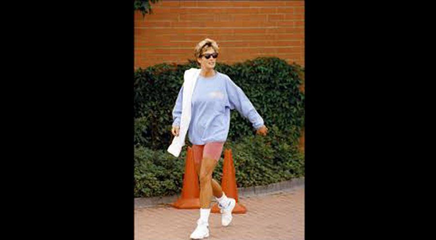 Las calzas ciclistas están de vuelta y recordamos a la princesa que mejor las llevó
