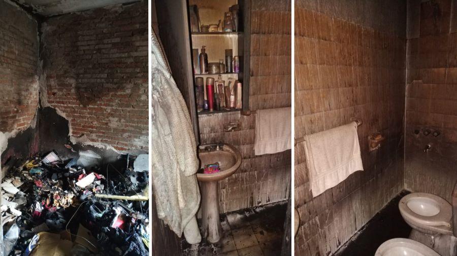 Su ex le incendió la casa, le robó el perro, quedó en libertad y ahora la amenaza de muerte