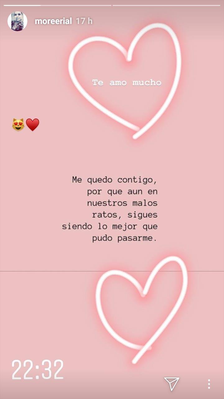 El enigmático mensaje de Morena Rial sobre el amor