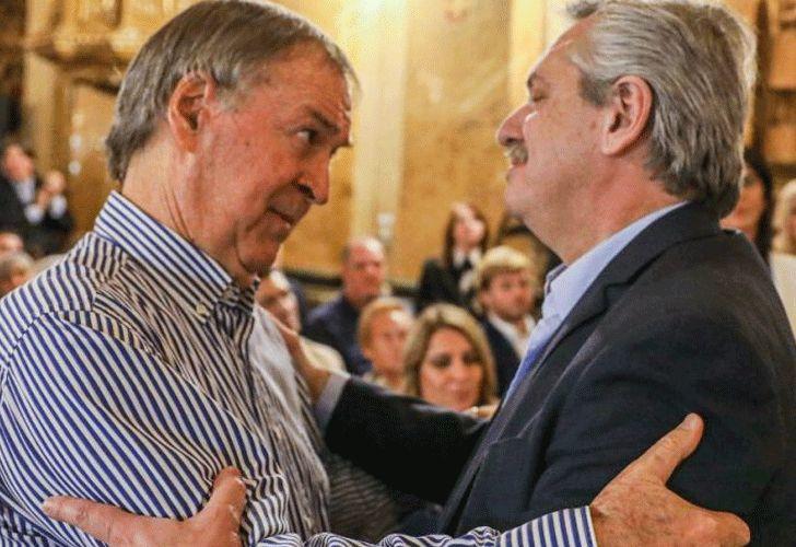 Juan Schiaretti y Alberto Fernández