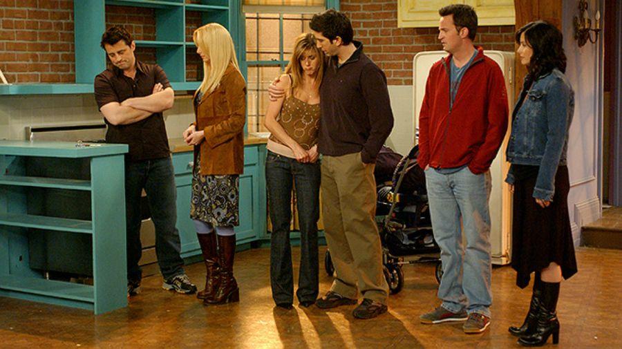 El departamento de Mónica fue el escenario más usado por la serie.