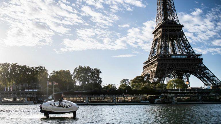 taxis voladores rio sena paris