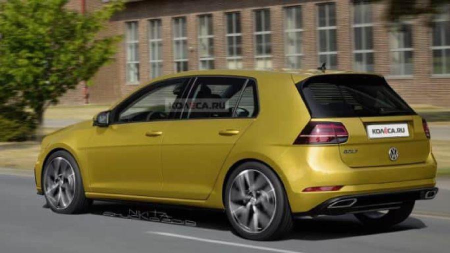 Volkswagen Golf (preoyección retro Kolesa)