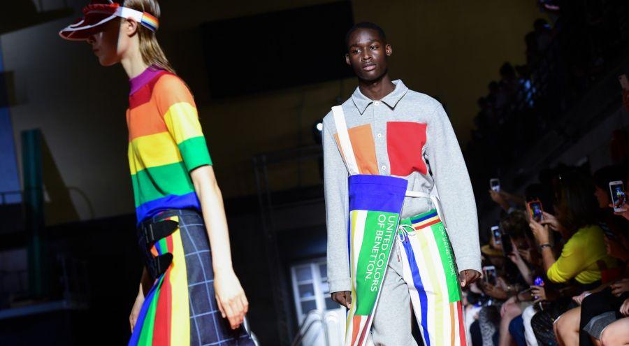 Benetton en Milán Fashion Week