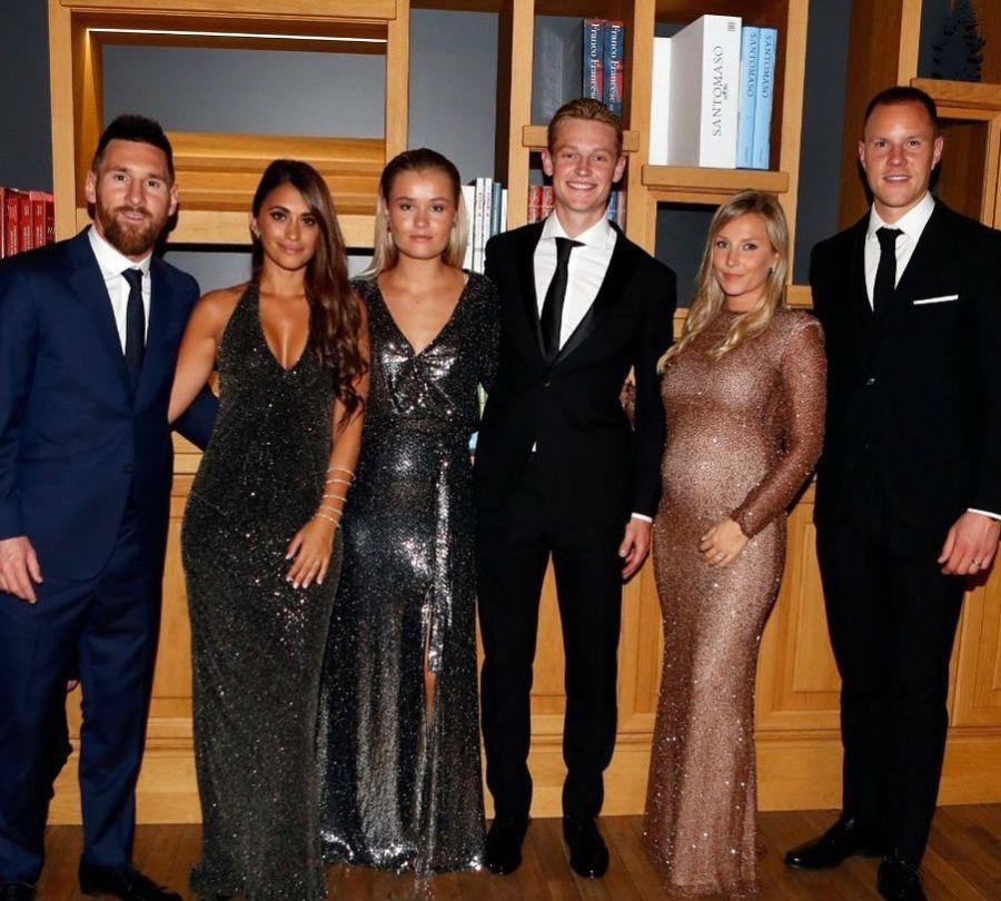 El look de Anto Roccuzzo en la gala de los premios The Best