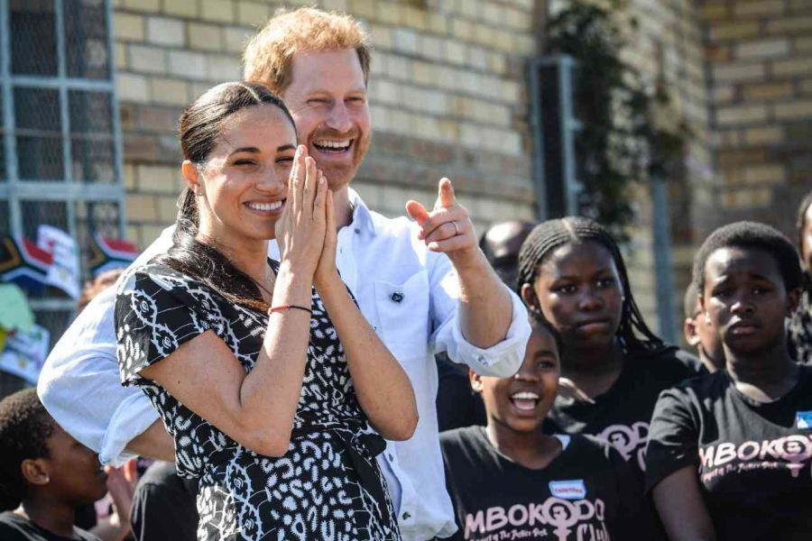 El príncipe Harry y Meghan Markle: todos los detalles sobre su viaje a Sudáfrica