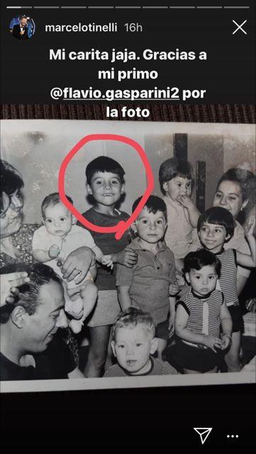 El recuerdo de Marcelo Tinelli