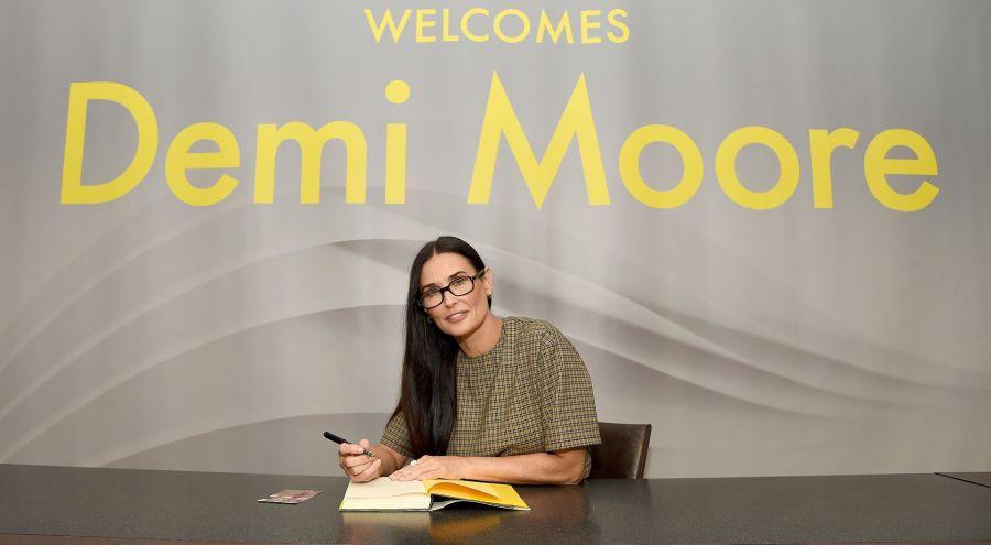 Demi Moore reveló todos sus secretos en su libro autobiográfico