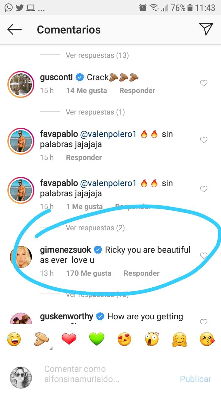 La foto hot de Ricky Martin que volvió loca a Susana Giménez