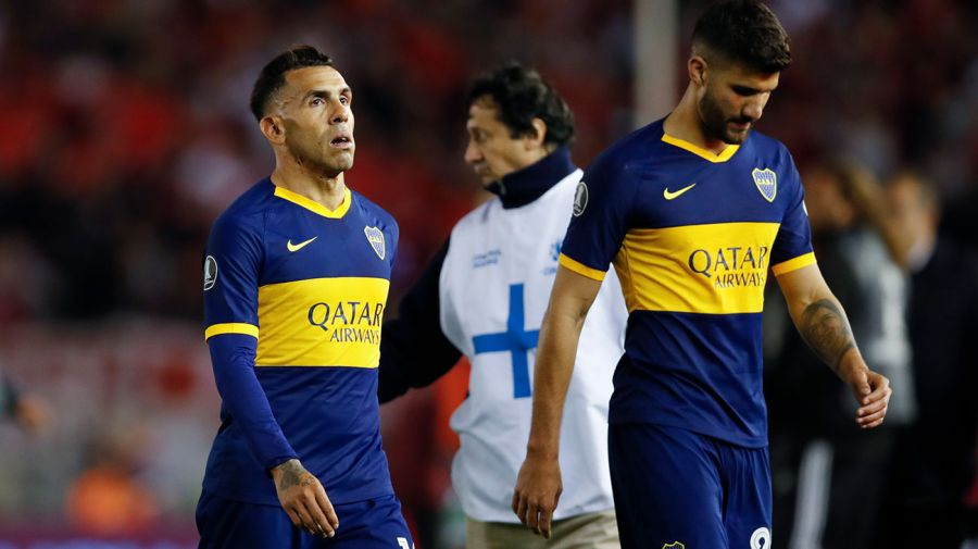 tevez boca juniors depressed