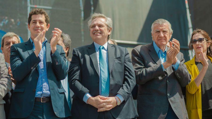 Alberto Fernández en San Juan